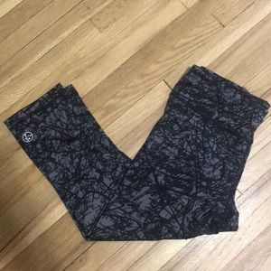 Zumba cropped leggings